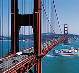 Golden Gate Bridge. Coatings for the protection of bridges
